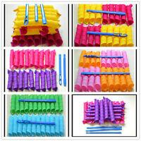 18Pcs Extra Long Normal Big Hair Curlers Leverag Curlformers Magic Hair Rollers