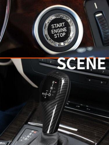 Carbon fiber LED Gear Shift Knob For BMW 1 3 Series E81//82//84//87//88 E90 E92 E93