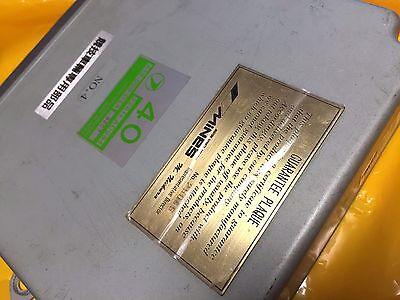 JDM SUBARU LEGACY EJ20 R 5 SPEED ECU MINES COMPUTER ULTRA RARE  ITEM 40 AD984