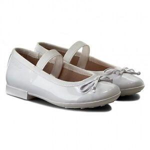 GEOX PLIE' J5455I WHITE scarpe donna ballerine lucide mocassini pelle bianco