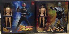 OHTSUKA MASKED Kamen RIDER Black & Shadow moon Action Figure HYPER HERO 2pcs SET