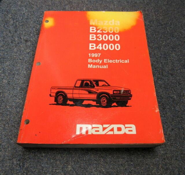 1997 Mazda B2300 B3000 B4000 Body Electrical Wiring