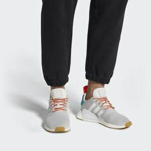info for 2cc3f ec471 Image is loading ADIDAS-NMD-R2-CQ3080-CRYSTAL-WHITE-GREY-GUM-