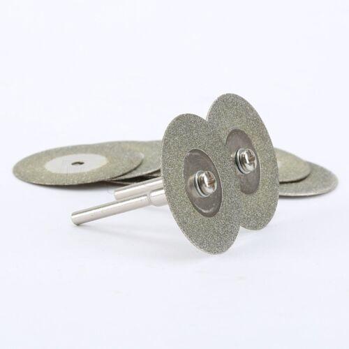 30mm Mini Diamond Rotary Cutting Off Discs Wheel Blades Tool For Grinder Drill