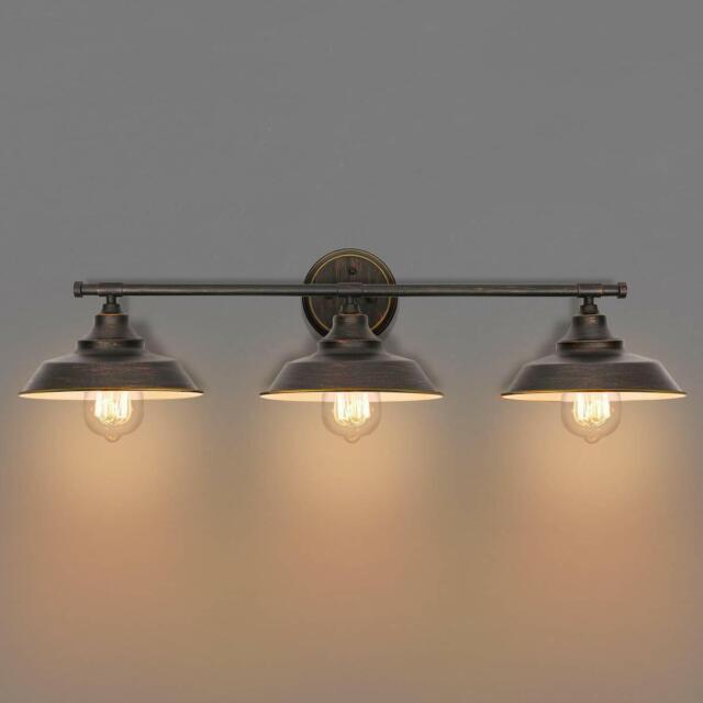 Sconces Bathroom Vanity Light 3 Fixture