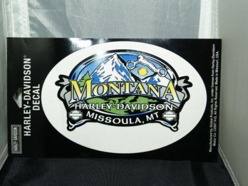 Harley-Davidson Montana Big Sky Country Decal *CLOSED DEALERSHIP*