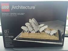 LEGO Architecture Sydney Opera House 21012 *RETIRED* Factory Sealed! New!
