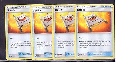 POKEMON 4x Barella 130//145 Non Comune Guardiani Nascenti ITA