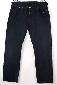 Levi's Strauss & Co Hommes 501 Jeans Jambe Droite Taille W38 L34 BBZ345