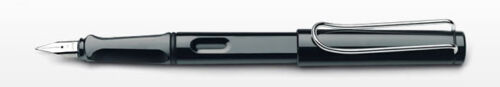 model L19BKM Lamy Safari Shiny Black Fountain Pen Medium - New