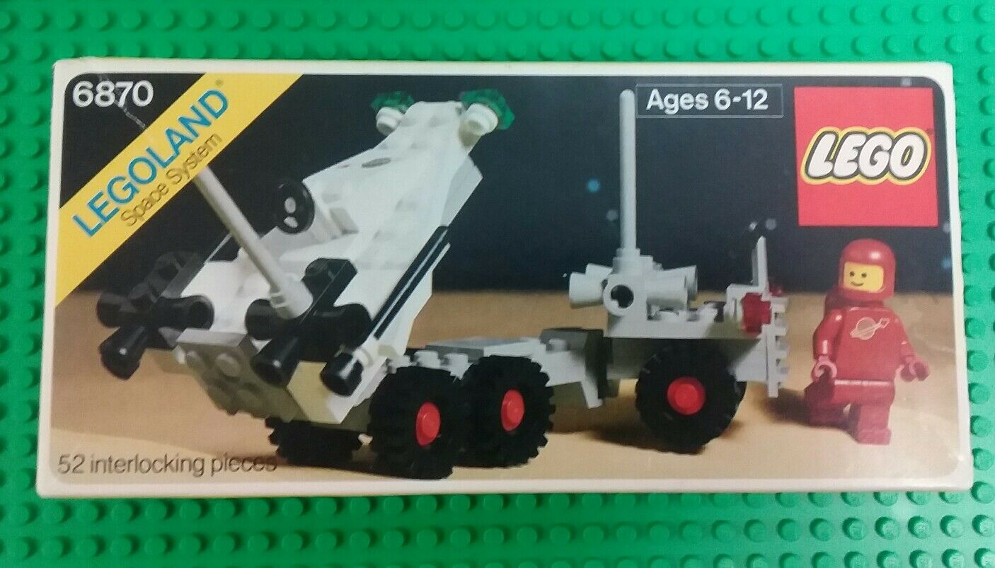Nuevo  espacio clásico de Lego 6870 X 1 jubilado sin usar y en caja sellada conjunto colector