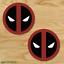 2-TWO-Deadpool-Vinyl-Decal-Sticker-For-Car-Laptop-Skateboard-NEW-Dead-Pool thumbnail 2