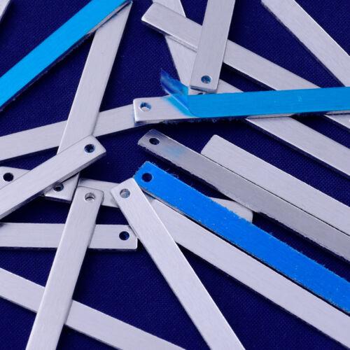 """1 1//2/"""" 1//8/"""" aluminio estampado en blanco brazalete pulsera en blanco medidores de 18 20 un 10176950"""