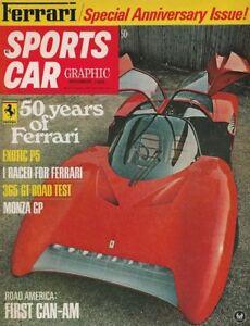 SPORTS-CAR-GRAPHIC-1968-NOV-FERRARI-Spcl-ENGINES-RACING-amp-CARS