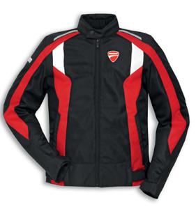 Ducati-Speed-3-Textiljacke-Schwarz-Rot-Groesse-M