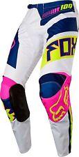 Fox Racing 2017 YOUTH 180 FALCON Motocross Pants Navy / White Size 28