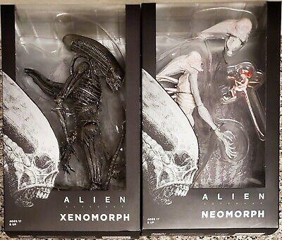 "NECA ALIEN COVENANT 7/"" XENOMORPH /& 7/"" NEOMORPH FIGURES TOGETHER BRAND NEW"
