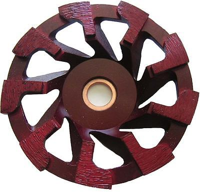 "(5) pack 4"" Diamond cup wheel for masonry faces, concrete and resurfacing"