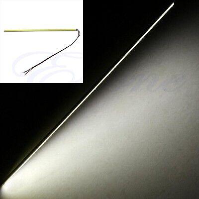 White 12V 5W 20cm COB 60-LED Chip DRL Daytime Running Light Lamp Bar Strip