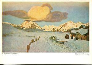 Alte-Kunstpostkarte-G-Segantini-Vergehen