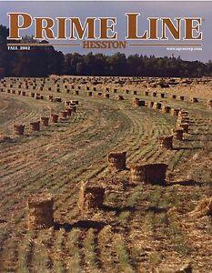 Liefern Prospekt Usa Agco Prime Line Hesston Fall 2002 Landmaschinen Trecker Tractors Mit Einem LangjäHrigen Ruf