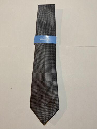 Countess Mara Mens Casual Solid Gray Dress Neck Tie Necktie 60x3 100/% Polyester
