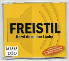 Freistil CD Hörst Du Meine Lieder - 1-tr. promo ESC Eurovision 2003
