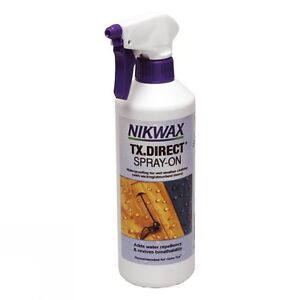 Nikwax-Tx-direct-Spray-on-300ml-Etancheite-Vetements-pour-temps-humide