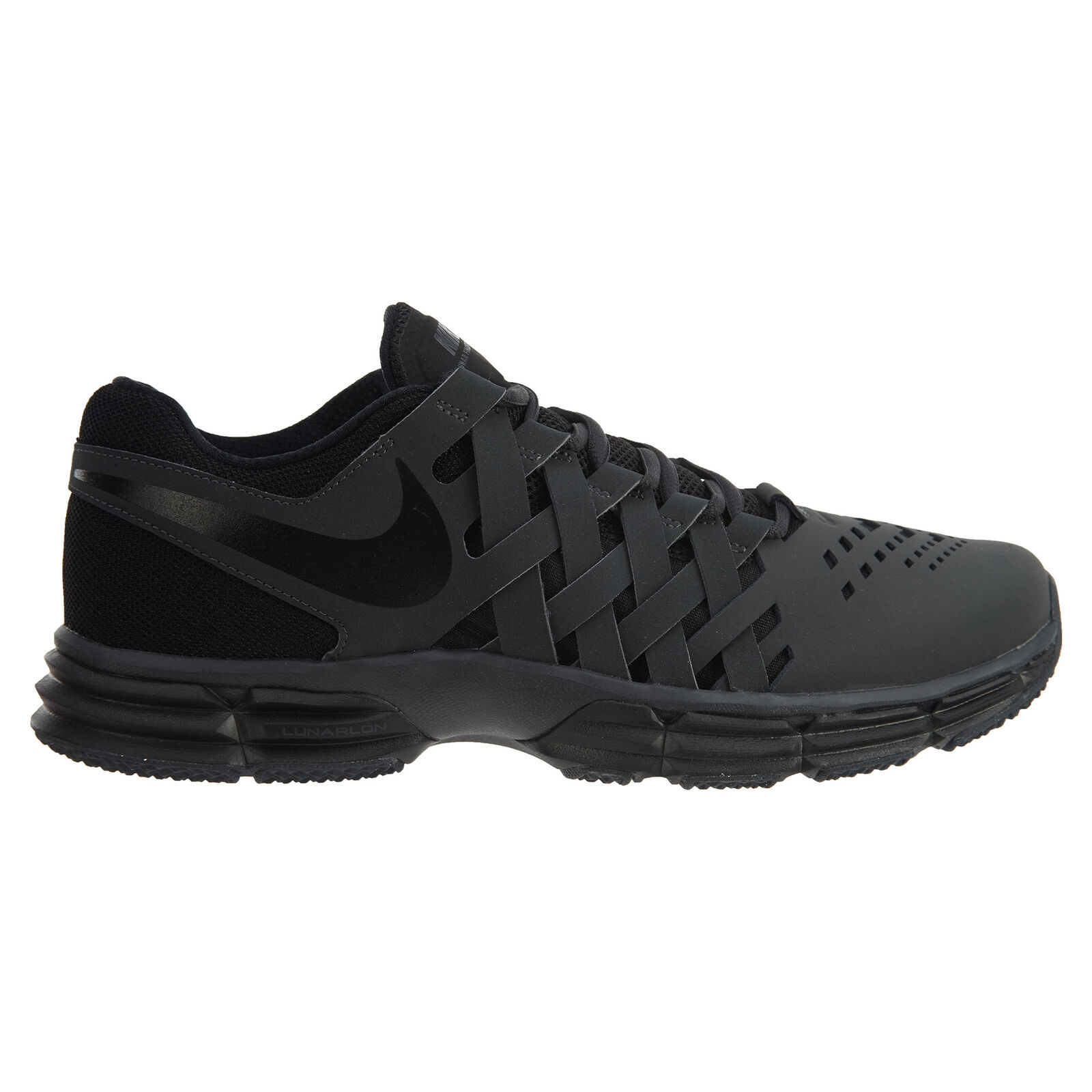 Nike Lunar Fingertrap TR Mens 898066-010 Anthracite Black Training shoes Size 12