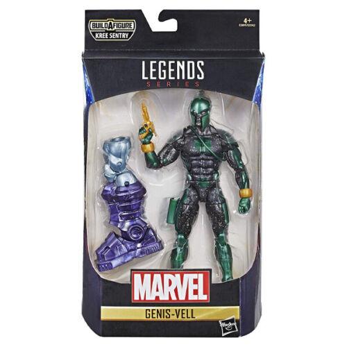 Genis-Vell Marvel Legends Series Figura con Kree Sentry Build-a-Figura-Nuevo