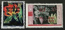 Guinea Guinee 1959 ** Postfrisch Blumen/Flowers Overprint 'Republique Guinee MNH
