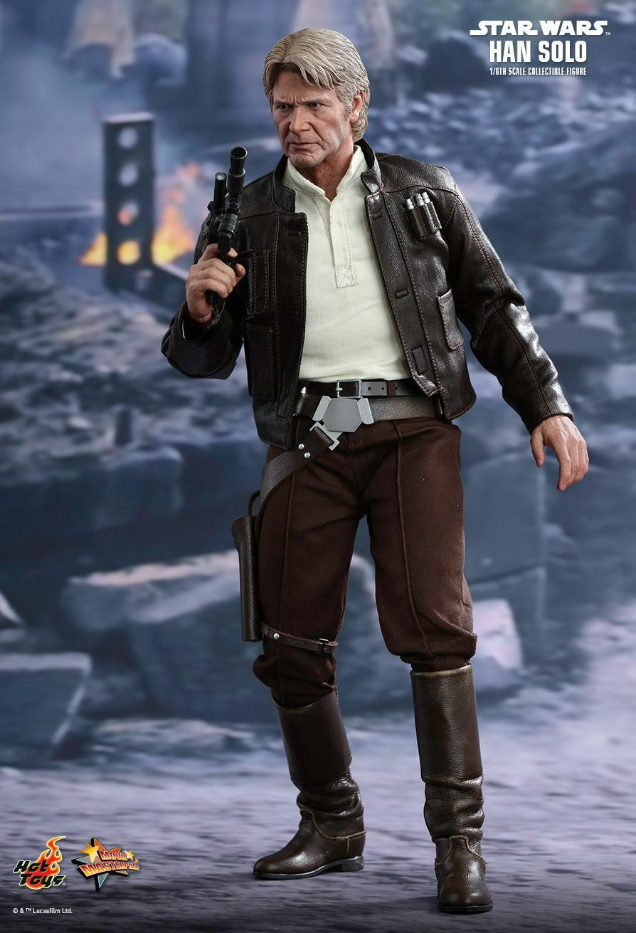 STAR WARS - Han Solo 1 6th Scale Action Figure MMS374 (Hot Toys)  NEW