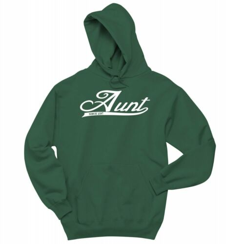Aunt Since 2017 Sweatshirt Cute New Baby New Aunt Sister Gift Hoodie