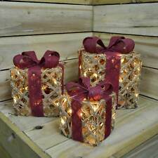 Scatter Cushion Gold Christmas Tree Festive Xmas With Filler Pad 45x45cm