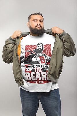 Fear The Beard Lumberjack Mens Tank Top Funny Shirts