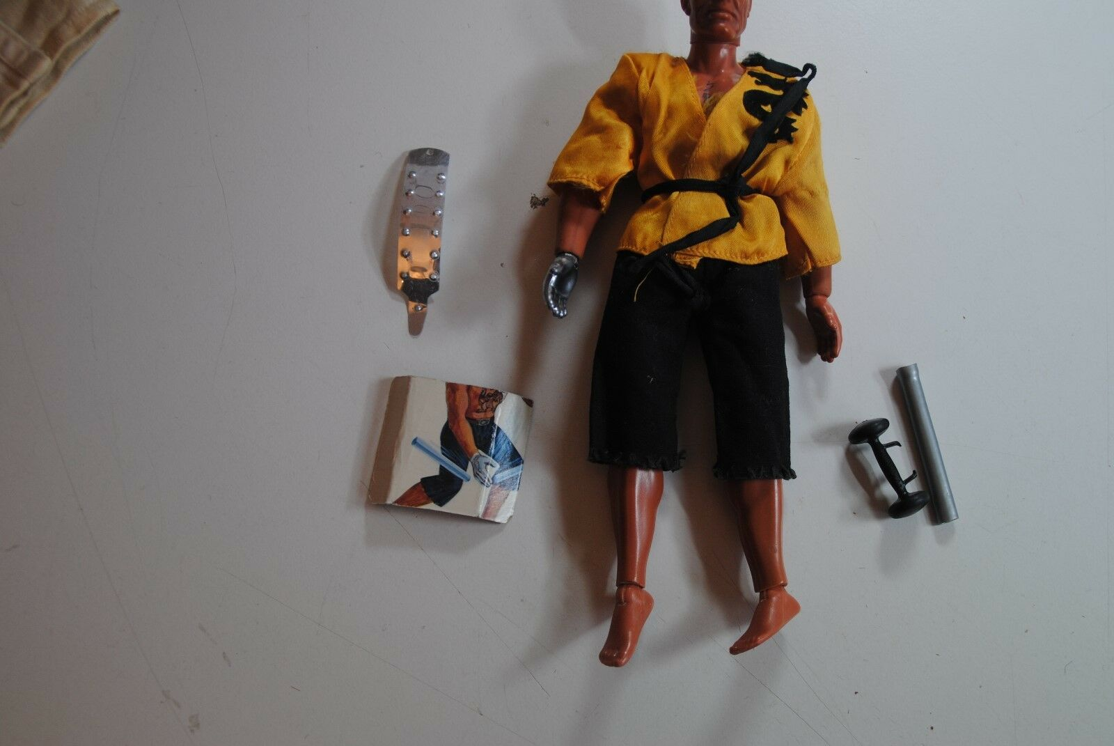 BIG JIM MATTEL DR STEEL      KUNG FU   ACTION  FIGURE