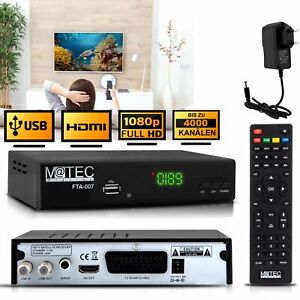 Matec-Digital-FTA-007-Full-HD-Sat-Receiver-HDMI-amp-SCART-H-264