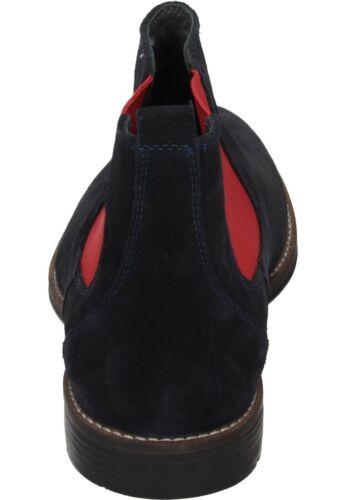660435 Blu 5 Chelsea Leather Neu20 40 Taglia Boots Boots Manitu 46 xq8I7FRR