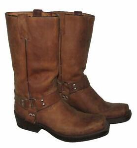 """"""" BUFFALO """" Herren- Westernstiefel / Stiefel / Biker- Boots in braun ca. Gr. 43"""