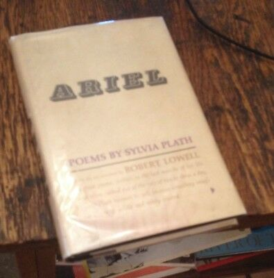 Ariel Sylvia Plath Poems 1966 First Rare Free Us Shipping Look Ebay