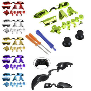 Full-Set-Replacement-LB-RB-Bumpers-Triggers-Buttons-Fr-Xbox-One-Elite-Controller