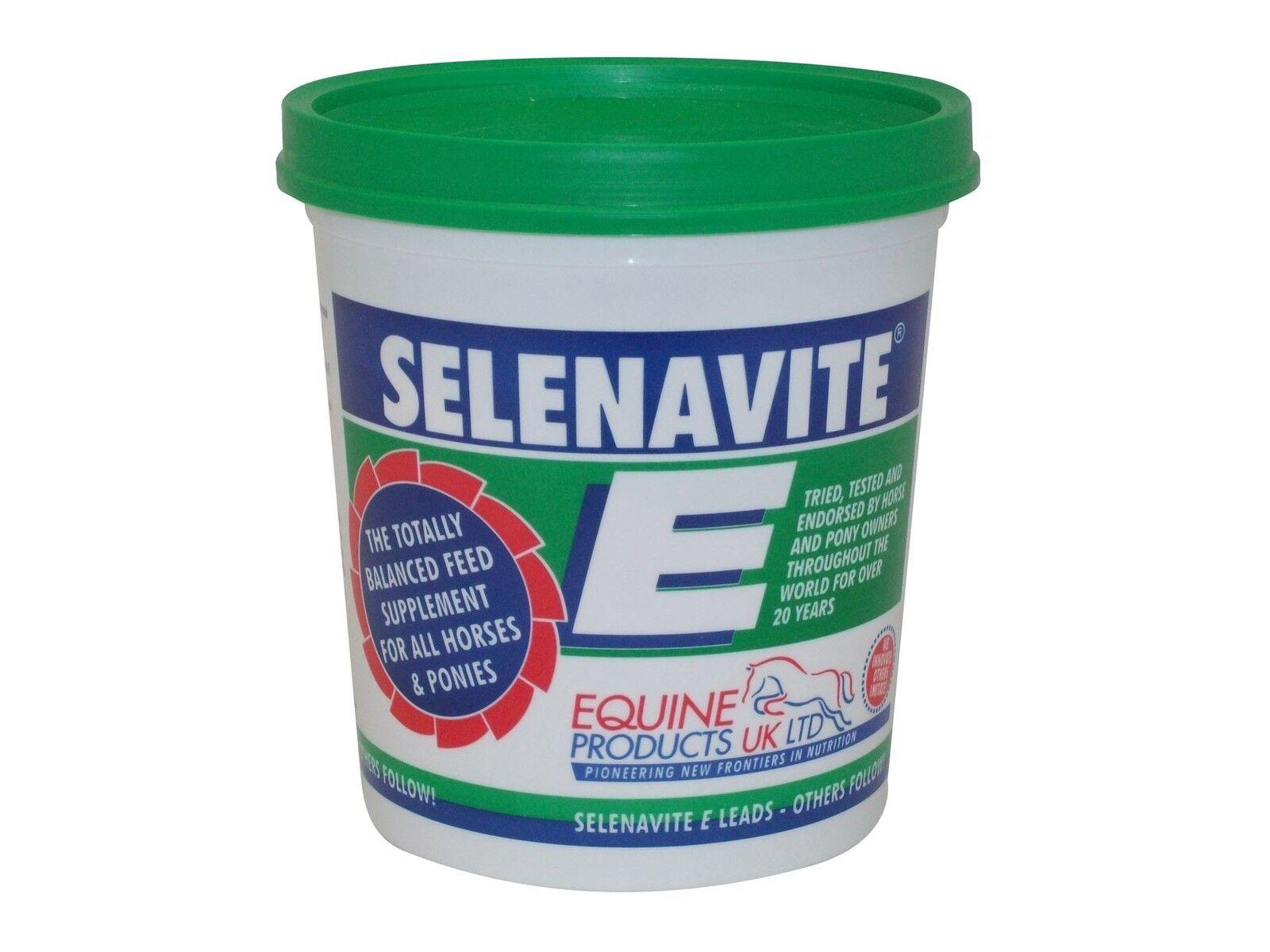 EQUINE PRODUCTS SELENAVITE E EQUINE HORSE VITAMINS & MINERALS