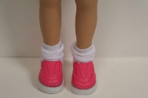 """DK PINK Loafer Doll Shoes For Dianna Effner 13/"""" Little Darling Vinyl Debs"""