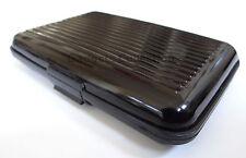 1pc Aluminum Scan Safe Credit Card Case Holder Security Wallet RFID Resistant