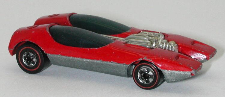 rossoline Hotwheels rosso 1973 Splittin Image oc13102
