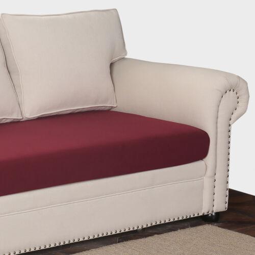 UK Stretch Cushion Cover Sofa Cushion Furniture Protector Sofa Soft Slipcover