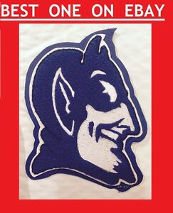 DUKE-University-College-Blue-Devils-Sew-On-Patch-NCAA-Mascot-Team-6x4-Basketball