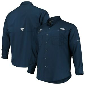 New-Columbia-PFG-Omni-Shade-Dallas-Cowboys-NFL-Football-shirt-men-039-s-XL-Navy-Blue
