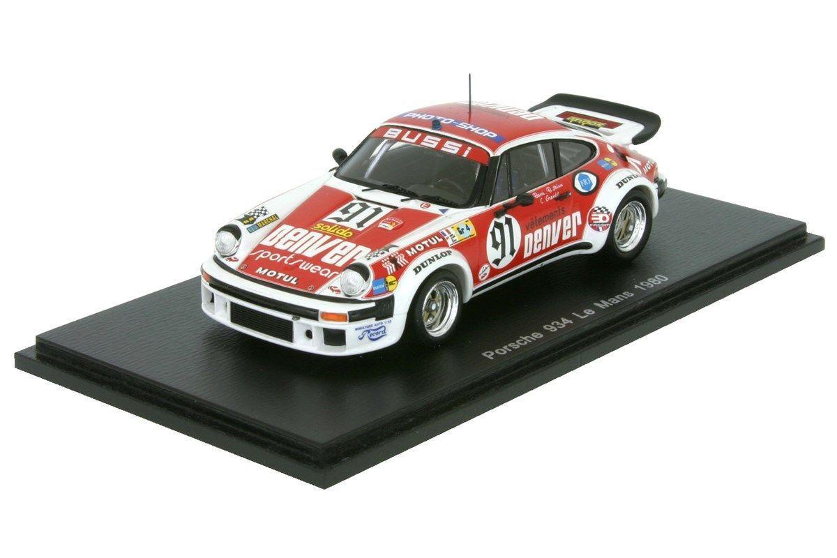 PORSCHE 934 - 24h Le Mans 1980-bacioni/Salam/Grandet - 1:43 1:43 1:43 SPARK 4421 f5d568