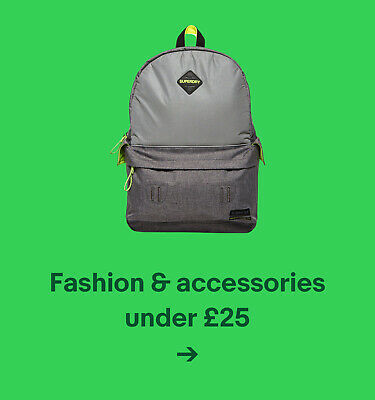 Fashion & accessories under £25